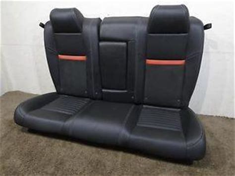 replacement dodge challenger oem leather rear seat