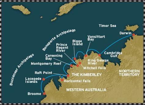 coral adventurer sacred kimberley cruises darwin  broome