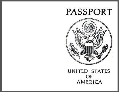 passport templates word excel  formats