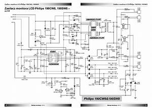 Philips 190cw8 190sw8 Power Sch Pl Service Manual Download