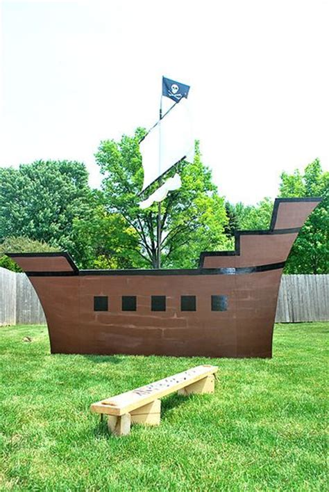 Pirate Ship Cardboard Boat by 25 Best Ideas About Cardboard Pirate Ships On
