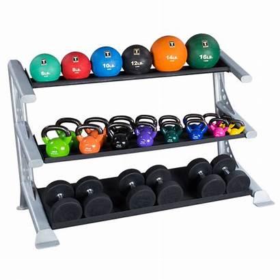 Rack Storage Dumbbell Dumbbells Fitness Kettlebells Solid
