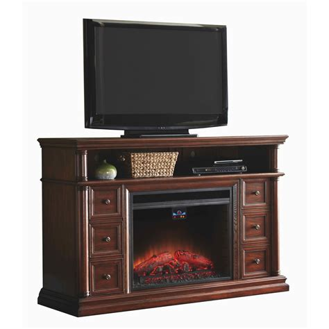 allen electric fireplace shop allen roth 62 in w 5 120 btu warm cherry wood