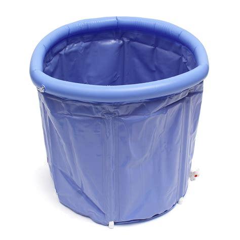 Plastic Bathtub by Bathtub Portable Pvc Plastic Tub Folding Water