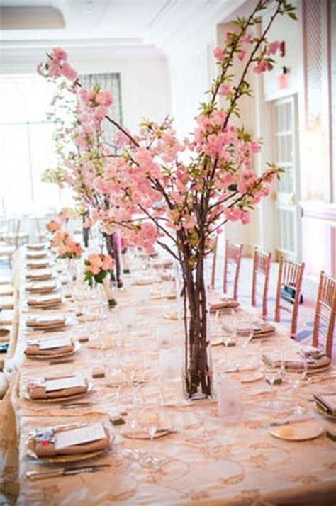 85 Beautiful Cherry Blossom Wedding Themed Decoration