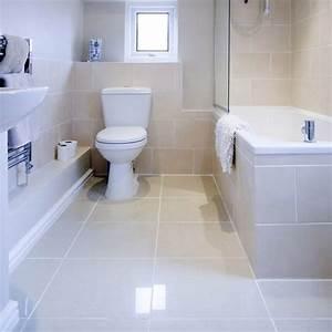 large wall tiles small bathroom peenmediacom With big or small tiles for small bathroom