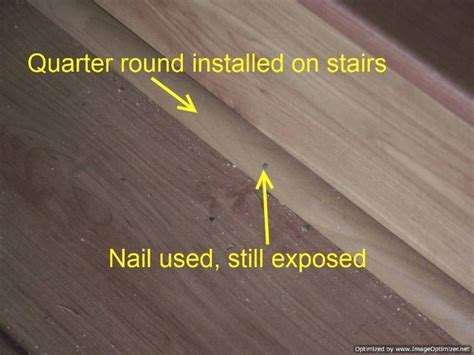 Laminate on Stairs With Bad Installation