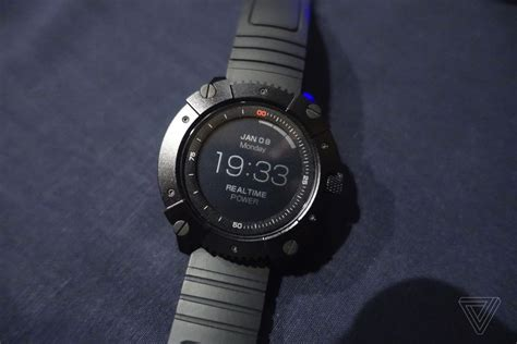 the powerwatch x is a smartwatch that runs your