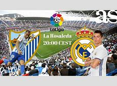 Málaga vs Real Madrid live stream online Spanish La Liga