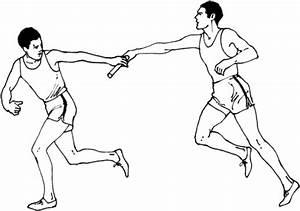 dibujo de carrera de relevos masculina para colorear With power relay que es