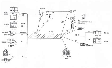 Honda Four Stroke Dirt Bike Wiring Diagram Library