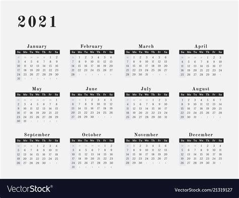 33+ Calendar Year 2021  Images