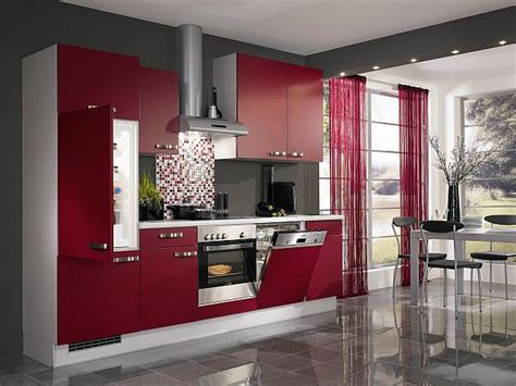 Kuche Rot by Kitchen Design Ideas Pictures And Inspiration