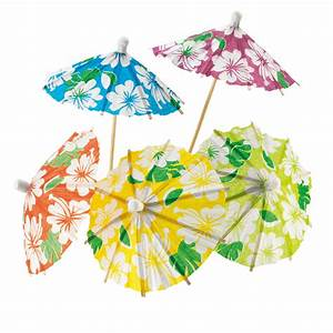 Mottoparty 50er Deko : deko picker sonnenschirm 24er pack 11 cm gro hawaii deko beachparty mottoparty party ~ Sanjose-hotels-ca.com Haus und Dekorationen