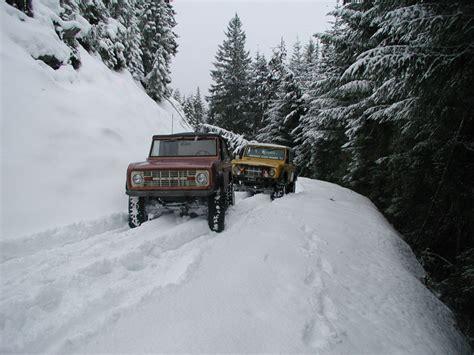 SnowTrek.org - Snow Wheeling near Jacks Pass