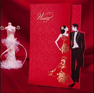 free shipping classic red chinese wedding invitation card With blank chinese wedding invitations