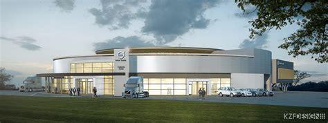 volvo truck service center volvo trucks breaks ground on new customer experience