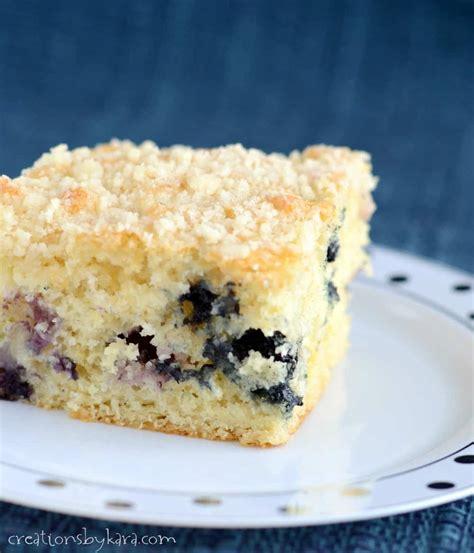 blueberry crumb coffee cake recipe