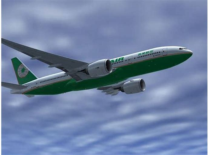 Eva Air Boeing 777 200 For Fsx | Download Free HD Wallpaper