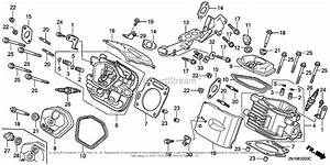 Honda Engines Gx670 Tdw  A Engine  Jpn  Vin  Gcam