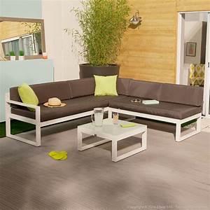 Salon De Jardin Bas : salon de jardin bas moderne squareline salon de jardin ~ Voncanada.com Idées de Décoration