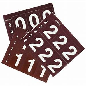 carsonite letter number decals With decal numbers letters
