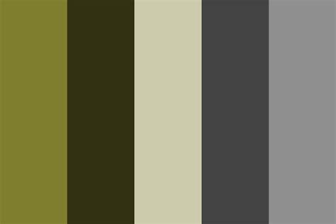 subtle yellow accompaniment color palette