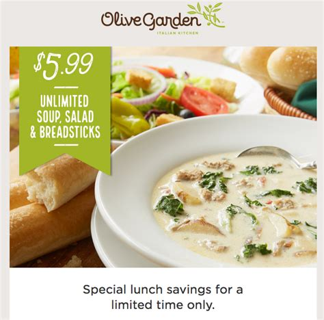 olive garden unlimited soup free is my olive garden unlimited soup