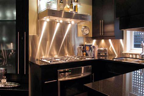 Stainless Steel Kitchen Backsplash Ideas : Kitchen Backsplash Ideas
