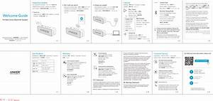 Anker Technology A3102 Bluetooth Speaker User Manual A3102