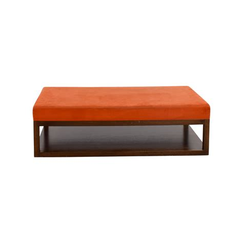 orange ottoman coffee table orange ottoman coffee table medium size of leather
