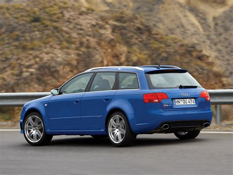 Rs4 Avant Usa by 2006 Audi Rs4 Avant 8e Pictures Information And Specs