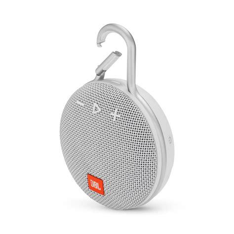 Enceinte Jbl Etanche Jbl Enceinte Jbl Clip3 Etanche Bluetooth Blanc Jblclip3wht Accessoires Design Access Go