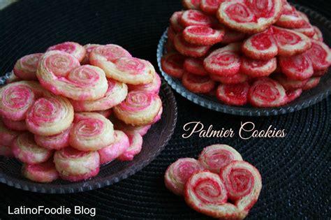 valentines day cookies orejas  palmiers latino foodie