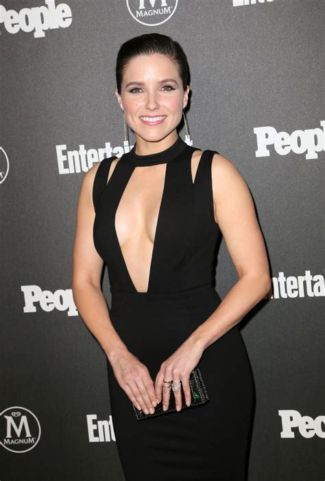 Sophia Bush Entertainment Weekly And People Upfronts Party