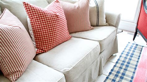 pottery barn loveseat slipcovers pottery barn slipcovers