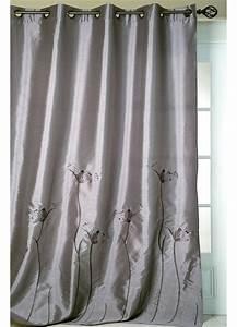 Rideau Gris Et Rose : rideau gris fushia ~ Teatrodelosmanantiales.com Idées de Décoration