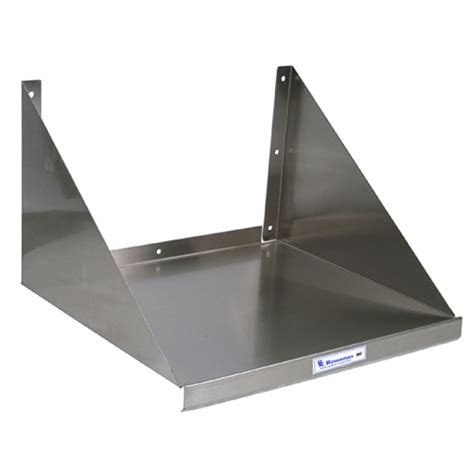 microwave wall shelf bk resources stainless steel microwave wall shelf 24 w