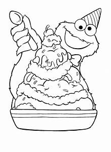 35 Cookie Monster Coloring Pages - ColoringStar