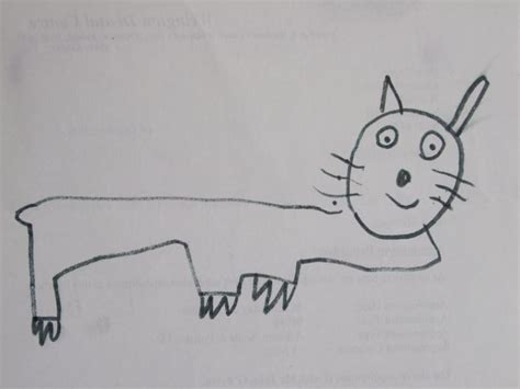 happy pussy cat nature drawings pictures drawings
