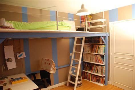 chambre mezzanine ado idées chambre pré ado
