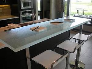 The Glass Counter Breakfast Bar by CGD Glass - CGD Glass