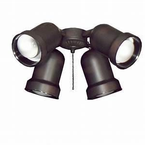Ceiling spot light kits : Troposair spotlight oil rubbed bronze indoor outdoor