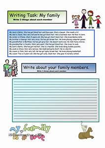 essay my family english