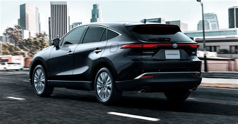Toyota Harrier SUV combines luxury feel with mass-market ...