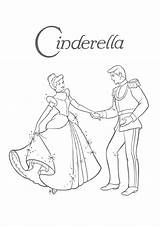 Prince Charming Coloring Pages Cinderella Printable Getcolorings sketch template