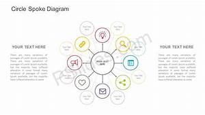 Free Circle Spoke Diagram For Powerpoint
