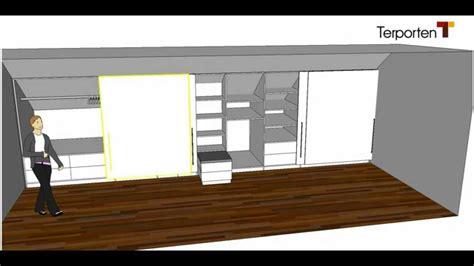Pax Schiebetüren Einbauen by Schrank In Dachschr 228 Ge Einbauen Und Kinderzimmer Schrank