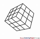 Cube Coloring Pages Printable Rubik Colouring Sheet Rubiks Sheets Title Results Hits sketch template
