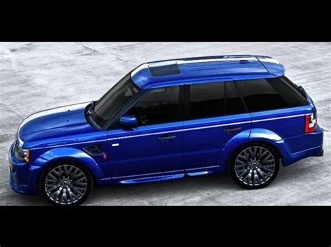 bali blue range rover sport rs kahn design youtube